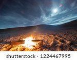 while looking for meteorites at ... | Shutterstock . vector #1224467995