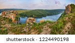 picturesque canyon of the... | Shutterstock . vector #1224490198