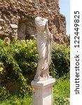 roman ruins in rome  forum | Shutterstock . vector #122449825