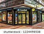 ponferrada  spain. circa... | Shutterstock . vector #1224498538