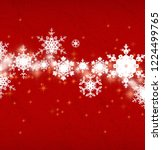 abstract snowflakes. 2d... | Shutterstock . vector #1224499765
