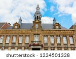 facade of the historical city... | Shutterstock . vector #1224501328