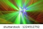 bright different random lights  ... | Shutterstock . vector #1224512752