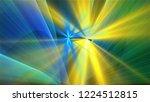 bright different random lights  ... | Shutterstock . vector #1224512815