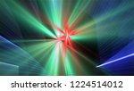 bright different random lights  ... | Shutterstock . vector #1224514012