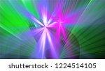 bright different random lights  ... | Shutterstock . vector #1224514105