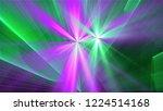 bright different random lights  ... | Shutterstock . vector #1224514168