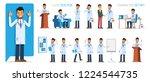 set version  1 of doctor... | Shutterstock .eps vector #1224544735