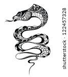 snake | Shutterstock .eps vector #122457328