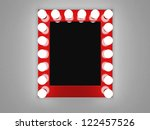 3d illustration of mirror with...   Shutterstock . vector #122457526