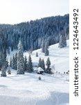 winter in schwarzwald. high...   Shutterstock . vector #1224643492