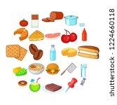 useful icons set. cartoon set...   Shutterstock .eps vector #1224660118