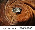 Spiral Clock Abstract Fractal....