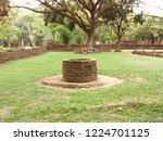 rune of stone well at historic... | Shutterstock . vector #1224701125