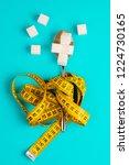 sugar replacing tablets or... | Shutterstock . vector #1224730165
