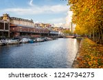 autumnal view of bristol... | Shutterstock . vector #1224734275