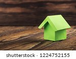 estate concept with ecology... | Shutterstock . vector #1224752155