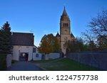 purely romanesque st. gallus... | Shutterstock . vector #1224757738
