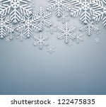 glowing blurry grey christmas...   Shutterstock .eps vector #122475835