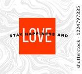 slogan tshirt graphic for wear. ... | Shutterstock .eps vector #1224797335
