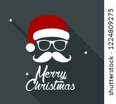 vector new year santa claus... | Shutterstock .eps vector #1224809275