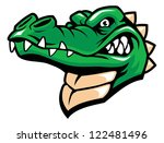 aggressive,alligator,angry,animal,attack,carnivore,character,college,comic,creature,crocodile,danger,dangerous,face,green