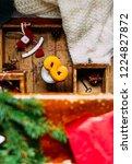 swedish christmas. gluten free...   Shutterstock . vector #1224827872