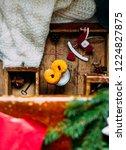 swedish christmas. gluten free...   Shutterstock . vector #1224827875