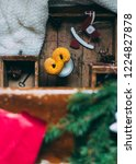 swedish christmas. gluten free...   Shutterstock . vector #1224827878