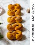 swedish christmas. gluten free...   Shutterstock . vector #1224827902