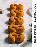 swedish christmas. gluten free...   Shutterstock . vector #1224827908