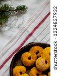 swedish christmas. gluten free...   Shutterstock . vector #1224827932
