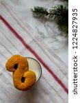 swedish christmas. gluten free...   Shutterstock . vector #1224827935