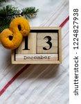 swedish christmas. gluten free...   Shutterstock . vector #1224827938