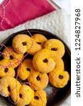 swedish christmas. gluten free...   Shutterstock . vector #1224827968