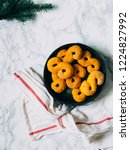 swedish christmas. gluten free...   Shutterstock . vector #1224827992