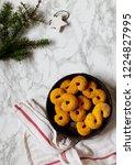 swedish christmas. gluten free...   Shutterstock . vector #1224827995