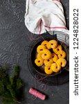 swedish christmas. gluten free...   Shutterstock . vector #1224828022