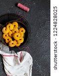 swedish christmas. gluten free...   Shutterstock . vector #1224828025