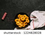 swedish christmas. gluten free...   Shutterstock . vector #1224828028