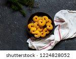 swedish christmas. gluten free...   Shutterstock . vector #1224828052