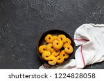 swedish christmas. gluten free...   Shutterstock . vector #1224828058