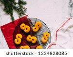 swedish christmas. gluten free...   Shutterstock . vector #1224828085