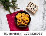 swedish christmas. gluten free...   Shutterstock . vector #1224828088