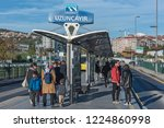 istanbul turkey   october 29 ... | Shutterstock . vector #1224860998