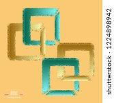 minimalist design templates.... | Shutterstock .eps vector #1224898942