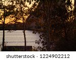 an evening look at the raritan... | Shutterstock . vector #1224902212