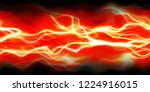 closeup of colorful abstract... | Shutterstock . vector #1224916015