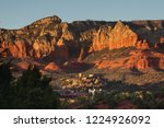sedona glows at sundown  arizona   Shutterstock . vector #1224926092