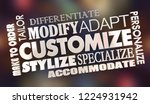 customize make to order...   Shutterstock . vector #1224931942